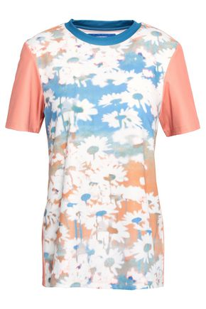 ACNE STUDIOS Floral-print stretch-jersey T-shirt