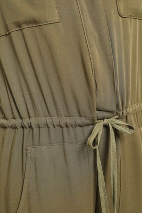 ENZA COSTA Gathered twill jumpsuit