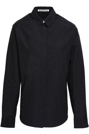 ACNE STUDIOS Cotton-poplin shirt