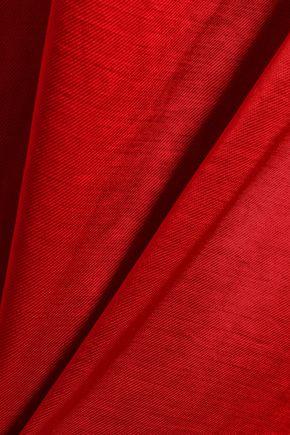 ACNE STUDIOS Satin-twill mini dress