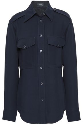 JOSEPH Rainer silk-crepe shirt