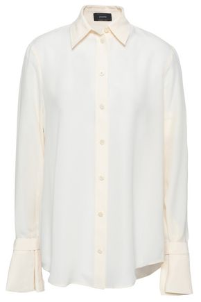 JOSEPH Rem washed-silk shirt