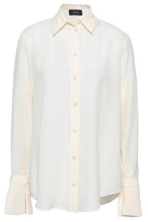 JOSEPH Rem silk crepe de chine shirt