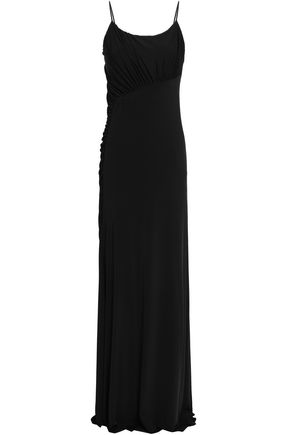 JASON WU Ruched stretch-jersey gown