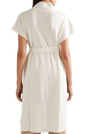 AGNONA Belted cashmere tunic