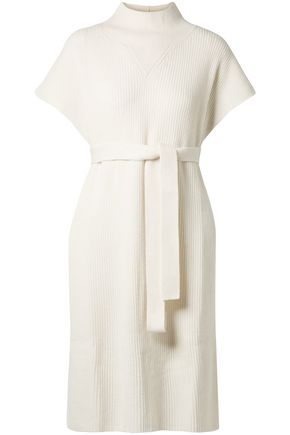 AGNONA Belted cashmere tunic