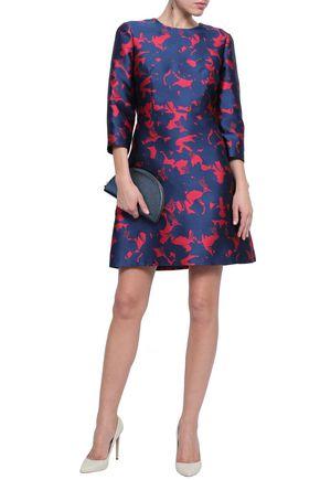 JASON WU Flared jacquard mini dress