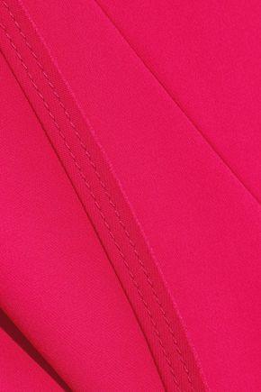 JASON WU Asymmetric stretch-crepe top