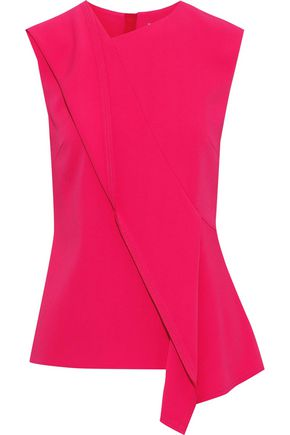 JASON WU Asymmetric stretch-crepe top