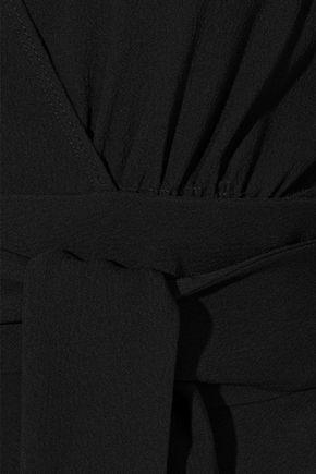 PROENZA SCHOULER Textured crepe wrap top