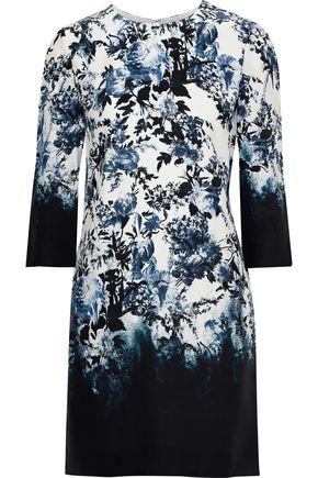 ERDEM Emma floral-print silk mini dress