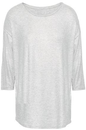 MAJESTIC FILATURES Metallic jersey T-shirt