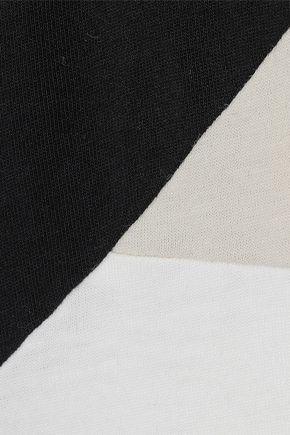 ADIDAS ORIGINALS Colorado embroidered color-block cotton-jersey T-shirt
