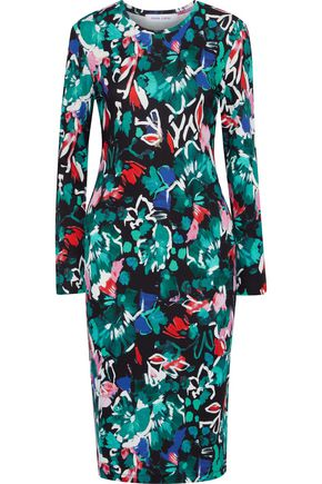 PRABAL GURUNG Printed stretch-jersey dress