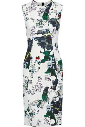 ERDEM Maura floral-print neoprene dress