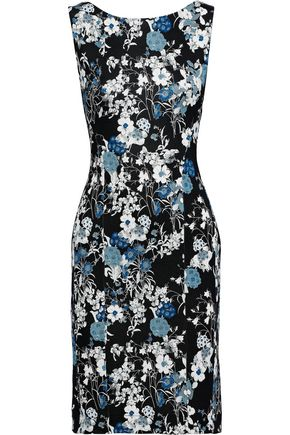 2598f335f4c ERDEM Peyton floral-print stretch-crepe mini dress
