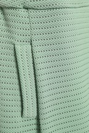 EMPORIO ARMANI Pleated knitted dress