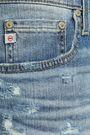 AG JEANS Distressed denim shorts