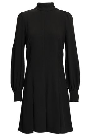 PROENZA SCHOULER Pleated textured-crepe mini dress