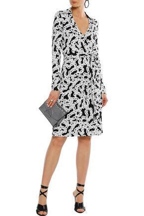 66d49e0b3d03 DIANE VON FURSTENBERG New Jeanne Two printed silk-jersey wrap dress