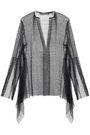 KITX Open-knit cotton-blend blouse