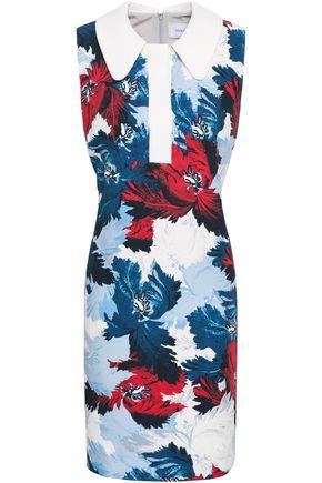 ERDEM Floral-print crepe mini dress