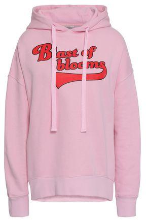 BAUM UND PFERDGARTEN Printed French cotton-blend jersey hoodie