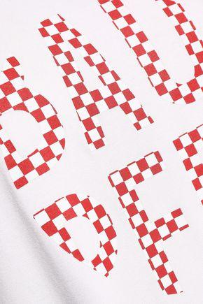 BAUM UND PFERDGARTEN Printed stretch-jersey T-shirt