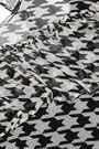 BAUM UND PFERDGARTEN Ruffled houndstooth georgette blouse