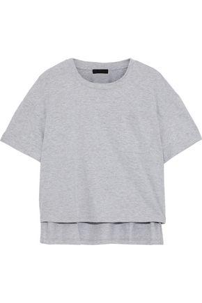 THE RANGE Mélange cotton-blend jersey T-shirt