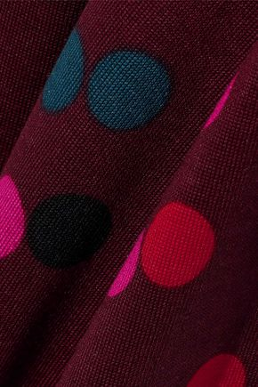 DIANE VON FURSTENBERG New Julian Two polka-dot silk-jersey wrap dress