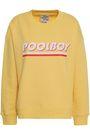 BAUM UND PFERDGARTEN Cloud Dancer French cotton-blend terry sweatshirt