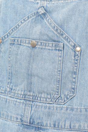 RAG & BONE Frayed denim overalls
