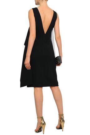 GIVENCHY Draped layered crepe dress