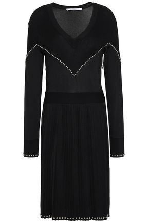 GIVENCHY Studded stretch-knit dress