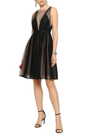 N°21 Flared tulle dress