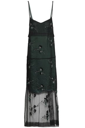 N°21 Embellished tulle maxi dress