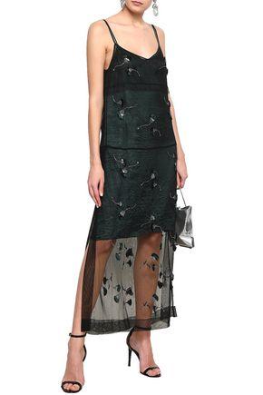 N°21 Embellished tulle maxi dress