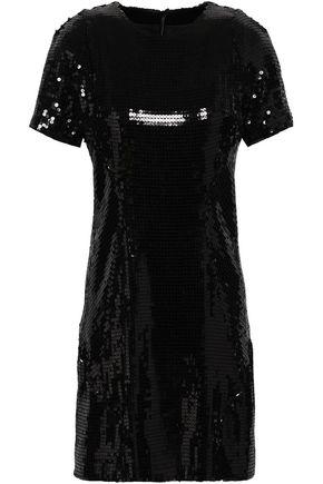 GALVAN  London Sequined silk-chiffon mini dress