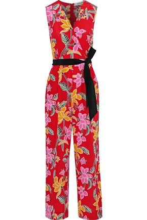 d42fd3e1b1bcc DIANE VON FURSTENBERG Wrap-effect floral-print silk jumpsuit