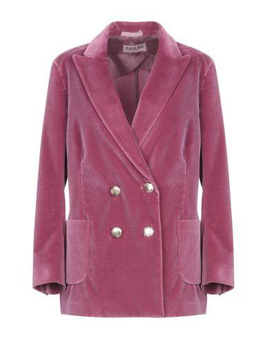 Фото - Женский пиджак SAULINA Milano розовато-лилового цвета