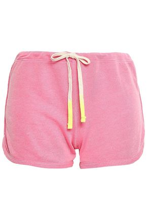 SUNDRY French cotton-terry shorts