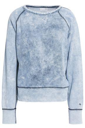 RAG & BONE Tie-dyed cotton-terry sweatshirt