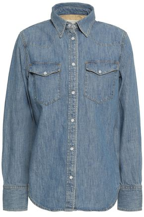 RAG & BONE Corbet faded denim shirt