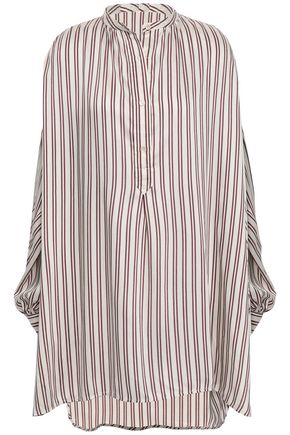 ISABEL MARANT Striped woven tunic