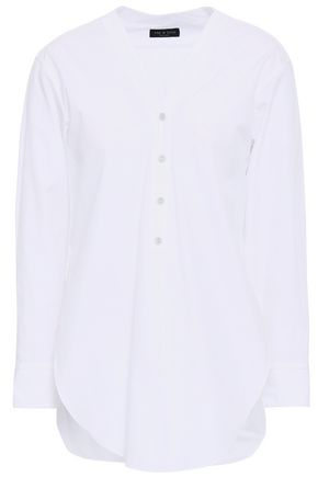 RAG & BONE Carter cotton-poplin shirt