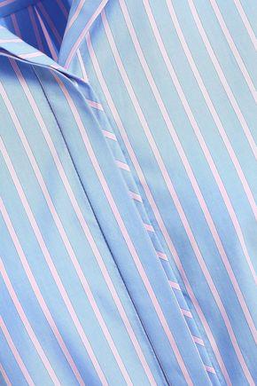 RAG & BONE Striped cotton-poplin shirt