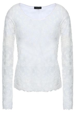 RAG & BONE Fil coupé cotton-blend top