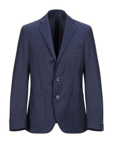 Купить Мужской пиджак REPORTER синего цвета