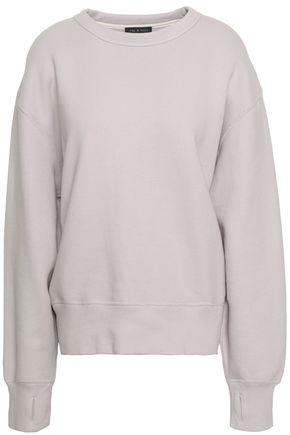 RAG & BONE Cotton-terry sweatshirt
